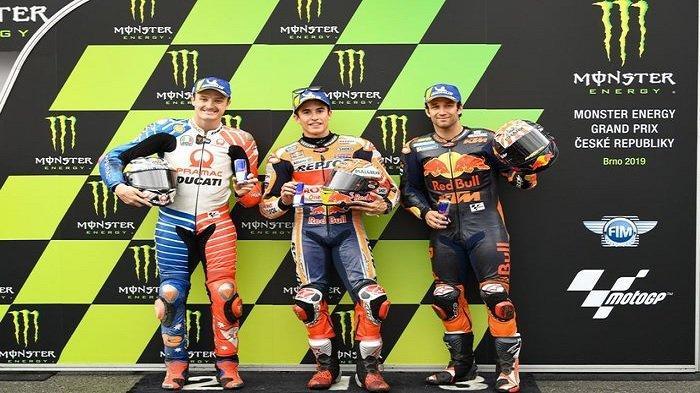 Live Streaming MotoGP Sirkuit Brno Ceko 2019 Hari Ini, Hasil Kualifikasi Valentino Rossi & Marquez