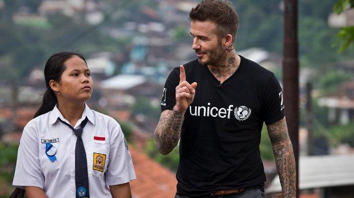 Dua Kali ke Indonesia dalam Setahun, David Beckham Ungkap Keprihatinannya Pada Bencana di Palu