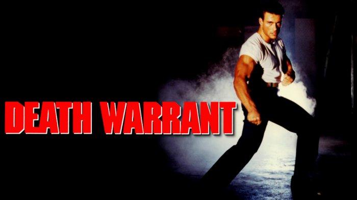 Sinopsis Film Death Warrant, Seorang Detektif Menyamar Masuk Penjara, Saksikan Malam Ini