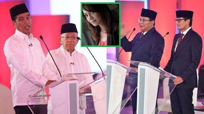 Cuma Ira Koesno yang Bisa 'Galak' ke Capres, Jokowi dan Prabowo Sampai Terdiam