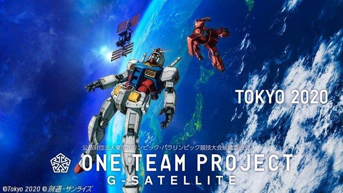 Demi Meriahkan Olimpiade Tokyo 2020, Jepang Akan Luncurkan Robot Gundam Ke Luar Angkasa