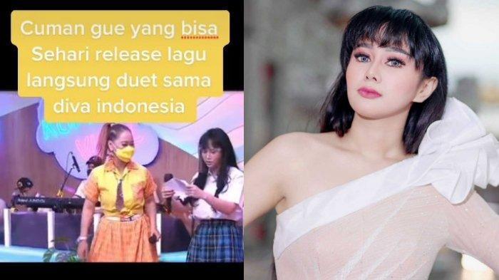 Duet Nyanyi Lagu 'Gila' bareng Inul Daratista, Denise Chariesta Tetap Sombong Meski Tak Hafal Lirik