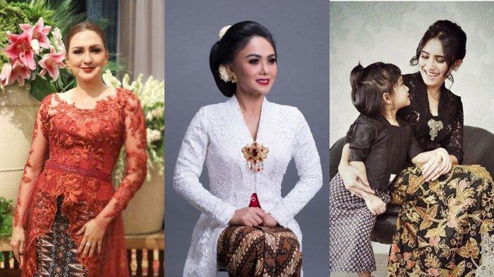 Rayakan Hari Kartini, Intip 9 Potret Deretan Artis Kenakan Kebaya, Termasuk Yuni Shara & Aura Kasih