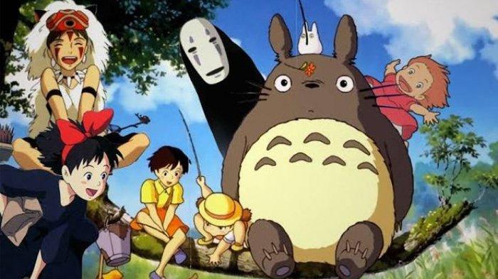 Deretan film anime terbaik Studio Ghibli.