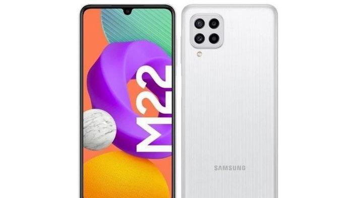 Desain Samsung Galaxy M22