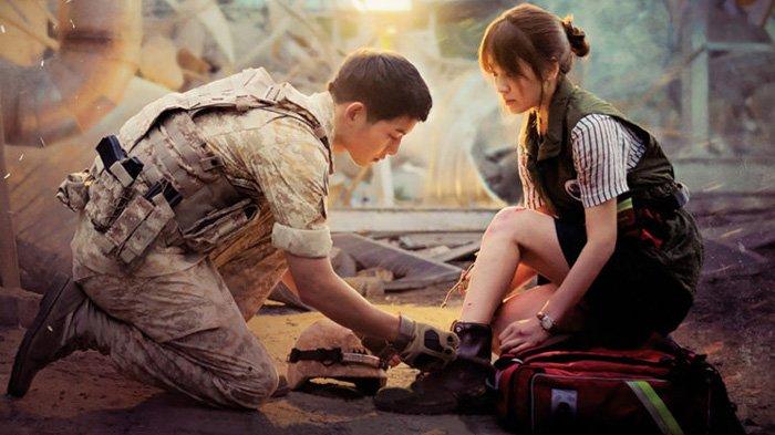 Link Nonton Drakor Descendants of The Sun Full Episode Gratis & Legal, Song Joong Ki Jadi Tentara