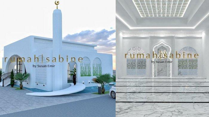 Design masjid Mega Bintang milik Ivan Gunawan