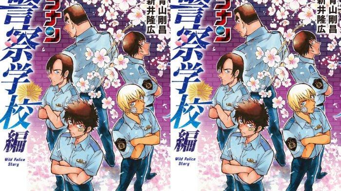 Manga Spin-off Detective Conan: Police Academy Arc Wild Police Story Bakal Diadaptasi Jadi Anime