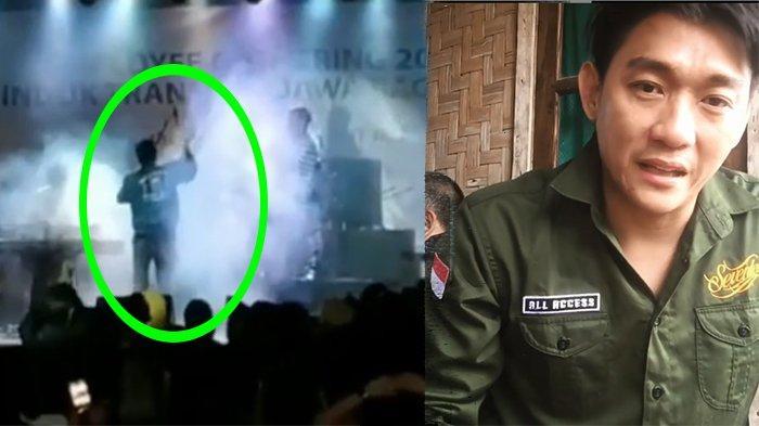 Detik-detik Grup Band Seventeen Tergulung Ombak Tsunami Tanjung Lesung, Panggung Lenyap Seketika!