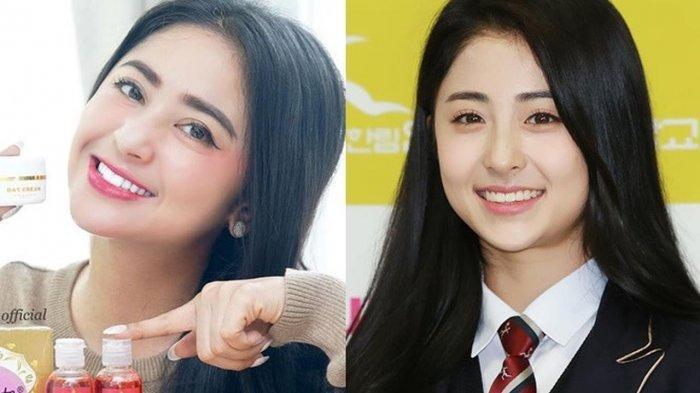 Dewi Perssik dan idol Korea