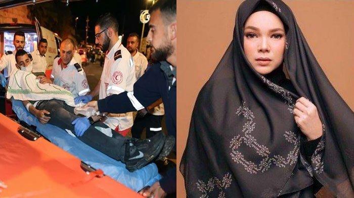 Prihatin Masjid Al-Aqsa Diserang, Dewi Sandra Menangis Lihat Korban Berjatuhan: Ya Allah Jaga Mereka