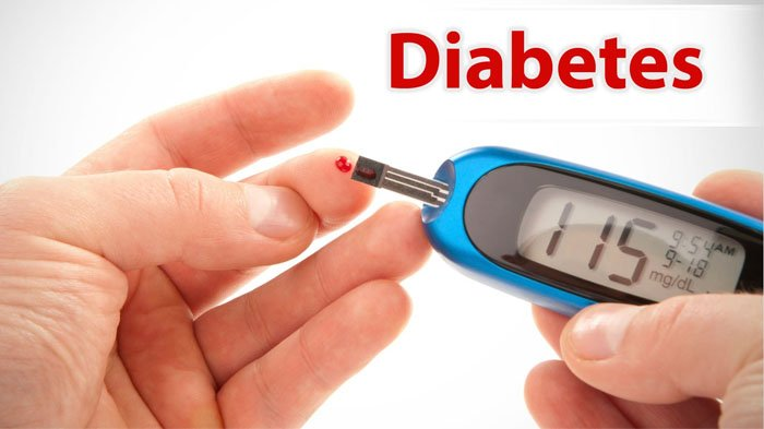 Ilustrasi gula darah tinggi, diabetes.