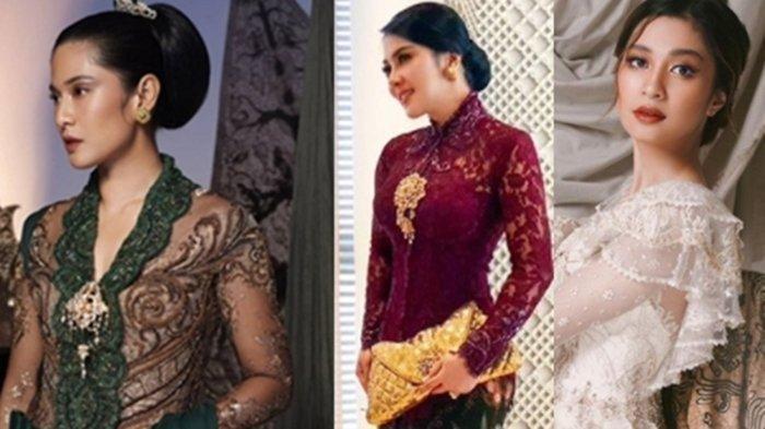 ADU CANTIK Para Artis Berkebaya di Hari Kartini, dari Syahrini, Nagita Slavina, Dian Sastro