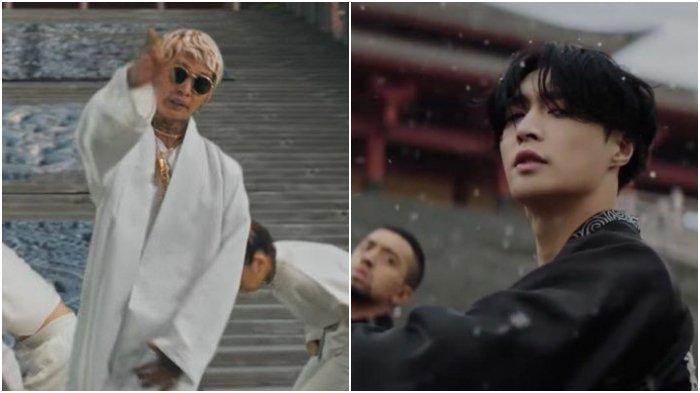 Young Lex 'Raja Terakhir' vs Lay Exo 'Lit'.