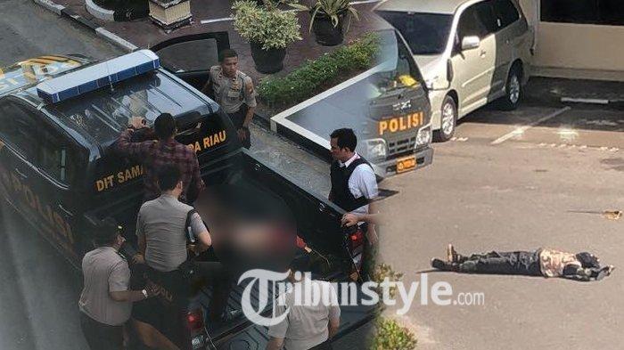 5 Fakta Mencekamnya Aksi Teror Penyerangan Mapolda Riau, Ada Korban Tewas dan Wartawan Terluka!