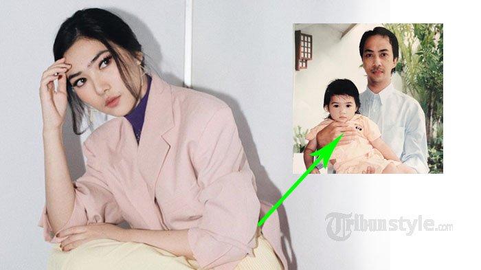 Digendong Papa, Foto Isyana Sarasvati Waktu Kecil Jadi Sorotan Netizen 'Cantik dari Lahir'