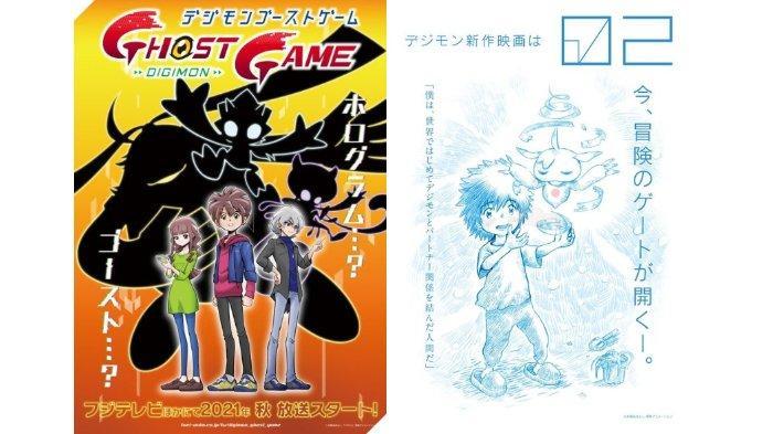 Digimon Luncurkan 2 Proyek Anime Baru, Digimon Ghost Game & Film Digimon Adventure 02, Kapan Tayang?