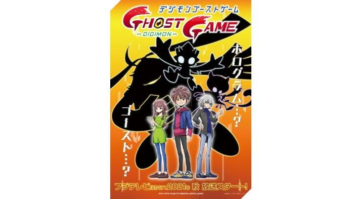 Serial anime Digimon Ghost Game akan segera tayang