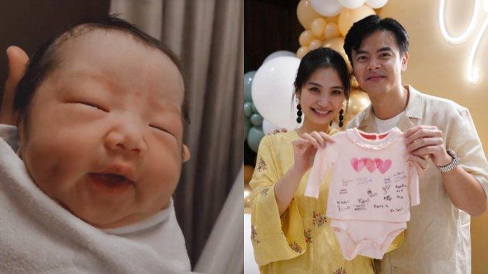 Baru Saja Lahir, Baby Gianna Sudah Bisa Pamer Lesung Pipi, Dion Wiyoko Takjub: Udah Ngerti Aja