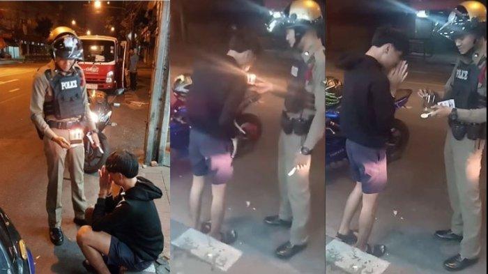 Ditilang Ngebut Tanpa Helm, Curhat Nangis Tiada yang Ingat Ultahnya, Sikap Polisi Bikin Nangis Lagi
