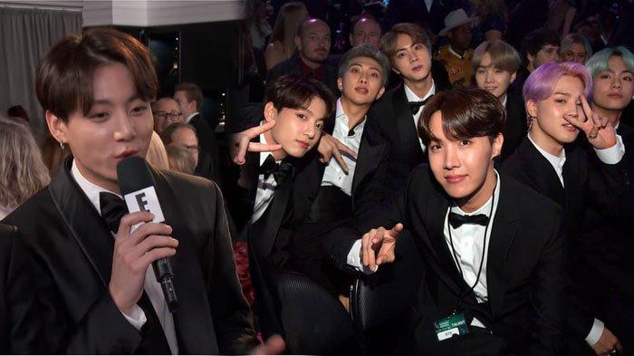 Diwawancarai Saat Grammy Awards, Fans Kaget Lihat Jungkook BTS Lancar Berbahasa Inggris