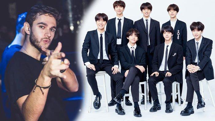 Dengarkan Lagu 'Fake Love' BTS Diremix oleh DJ Zedd