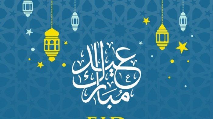 Ucapan selamat Idul Fitri terabru 2019 (freepik.com)