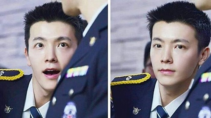 Wajib Militer Intip Penampilan Ganteng Donghae Super Junior Pakai Seragam Polisi Tribunstyle Com