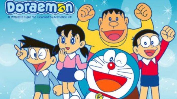 Doraemon jadi salah satu anime yang cocok ditonton anak-anak