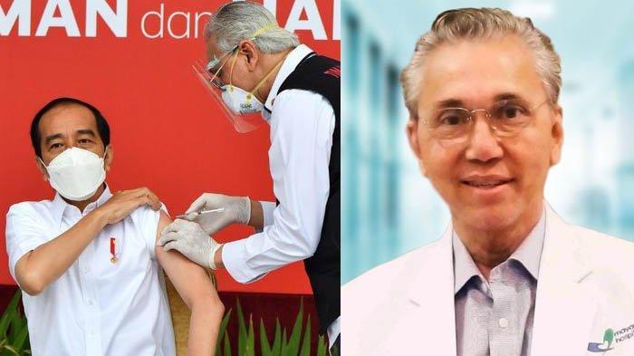 Fakta-fakta Dokter Abdul Muthalib, Sempat Gemetaran saat Suntikkan Vaksin Perdana Ke Presiden Jokowi