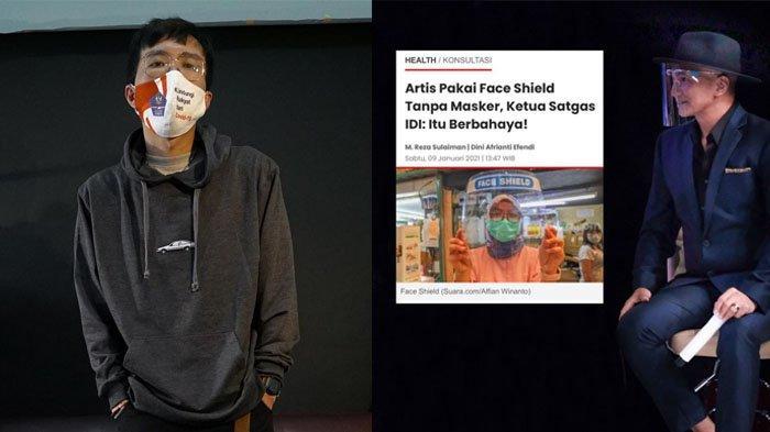 Tanggapi dr Tirta Bahas Artis Syuting Pakai Face Shield Tanpa Masker, Anji: Edukasi Perlu Ditambah