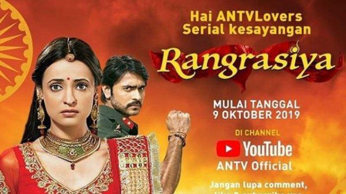 Sinopsis & Daftar Pemain Lengkap 'Rangrasiya', Drama India Terbaru ANTV, Tayang 9 Oktober 2019