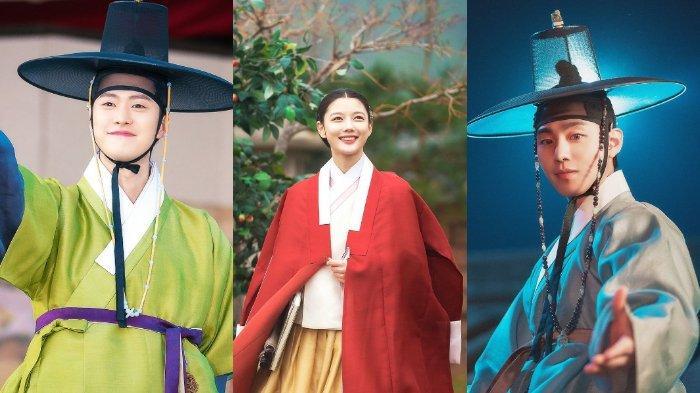 Adu peran Gong Myung dan Ahn Hyo Seop dalam memenangkan hati Kim Yoo Jung di Lovers of the Red Sky