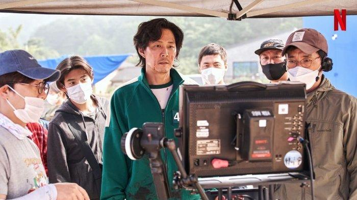 Cuplikan di balik layar drama Korea Squid Game