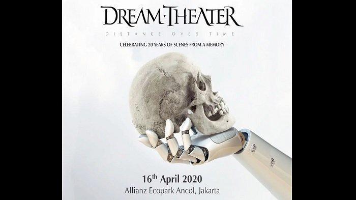 Dream Theater Gelar Konser di Jakarta Bulan April Mendatang, Simak Info Tanggal & Harga Tiketnya