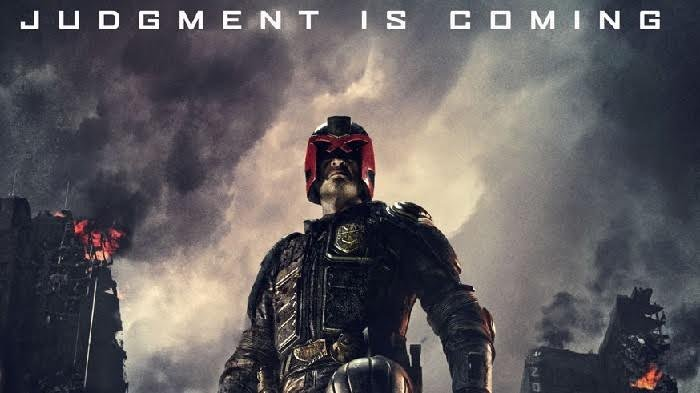Poster film Dredd, tayang malam ini di Bioskop Trans TV.