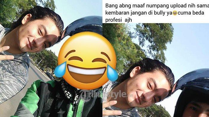 Dapat Order Antar Aktor Tampan, Driver Ojol ini Curhat Ketemu Kembaran, Netizen: Gantengan Abangnya