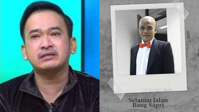 Duka Ruben Onsu atas meninggalnya komedian Sapri Pantun.