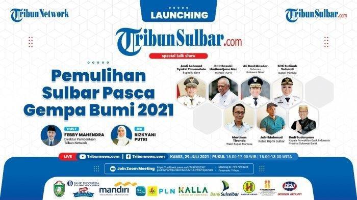 HARI INI Launcing Tribun-Sulbar.com, Portal Local Breakingnews ke-53 Tribun Network di Indonesia