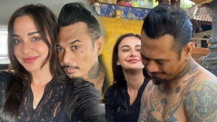 Ekspresi Kebahagiaan Nora Alexandra setelah Jerinx Bebas dan Kembali ke Pelukannya, 'Rahayu'