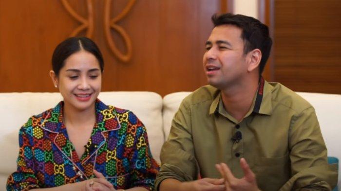 Ekspresi Nagita Slavina saat Raffi Ahmad mengaku menghilangkan cincin kawin.