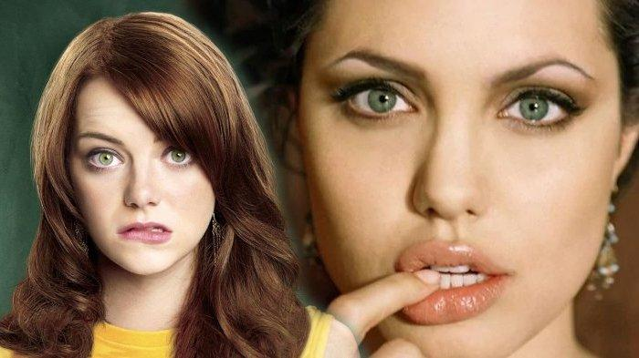 Tatapan Menggoda, Ini 7 Aktris Dunia yang Miliki Mata Indah, Emma Stone hingga Angelina Jolie