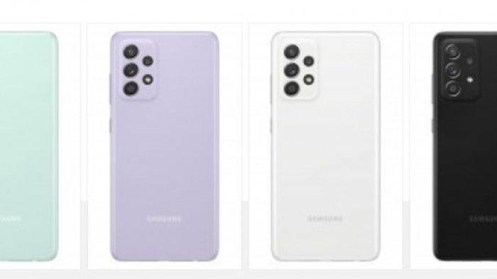 Empat varian warna Samsung Galaxy A52s 5G