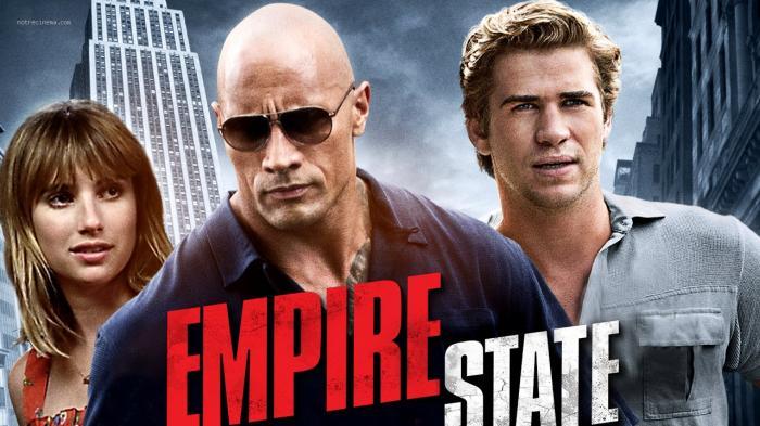 Film Empire State, tayang malam ini di Bioskop Trans TV.