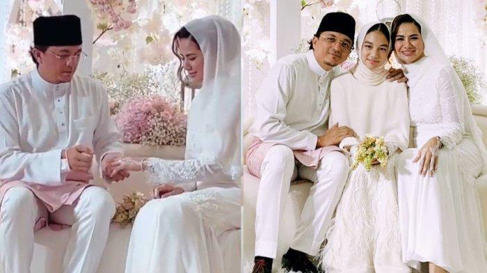 Engku Emran dan Noor Nabila menikah