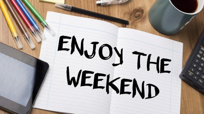 Menikmati libur akhir pekan