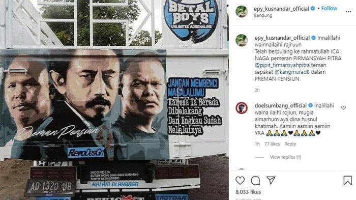 Epy Kusnandar ucap belasungkawa atas meninggalnya Kang Pipit 'Preman Pensiun'