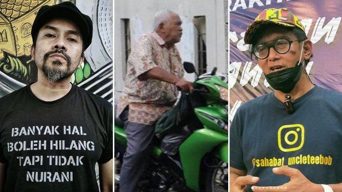 Uncle Teebob dan Erwin Moron Kompak Galang Donasi untuk Bantu Pria Tua yang Dimarahi Baim Wong