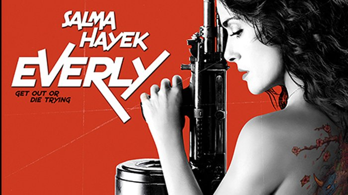 Poster film Everly.