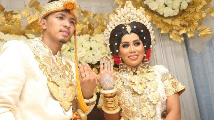 Ini Curhatan Suami Evi Masamba Setelah Resmi Menikah, Sebut Sang Istri Sebagai Surga Dunia